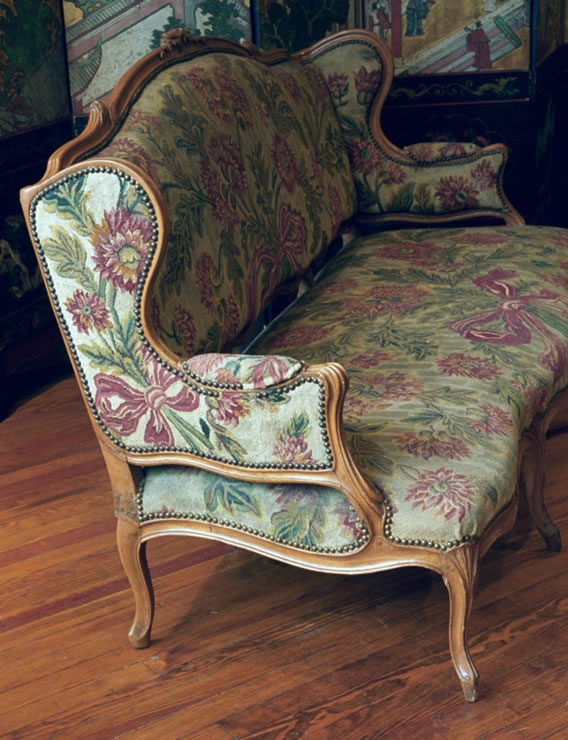 Louis XV canape signed G Jacob