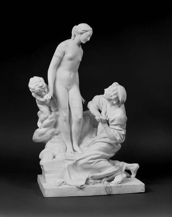 Sevres biscuit figure of Pygmalion by Falconet