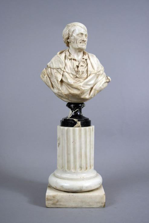 Bust of Voltaire by ROSSET