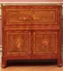 Louis XVI marquetry secretaire signed by Pierre Macret