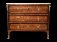 Transitional period commode/desk by Petit