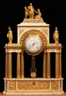 Louis XVI clock honoring Henri IV
