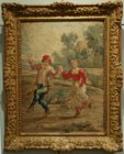 Brussels tapestry after Teniers