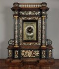 Baroque clock attributed to van der Vinne