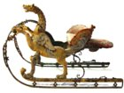 Baroque sleigh designed by Berain