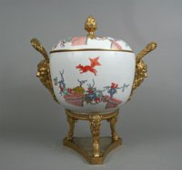 Meissen ormolu mounted tureen