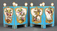 Two Sevres Orange tubs by Aloncle and Armand l'ainé